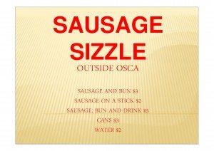 Sausage Sizzle pic